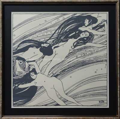 Gustav Klimt - Akty
