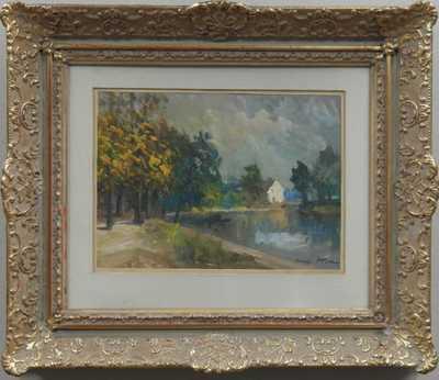 Karel Hodr - Na řece