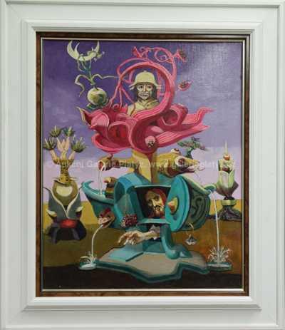 Josef Liesler - Když Hieronymus medituje