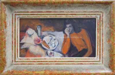 Václav Hejna - V kavárně