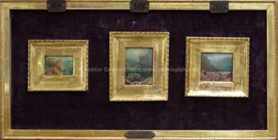 A. B. Piepenhagen - Tři studie horských krajin