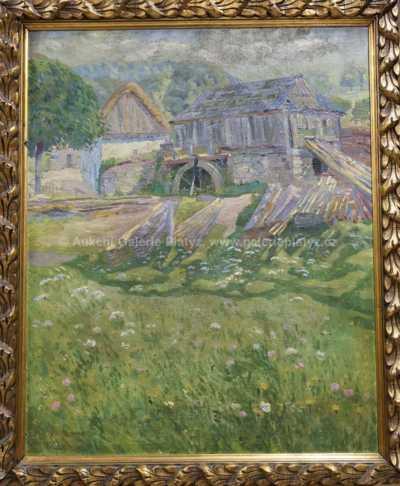 Bobeš Svoboda - Louka u mlýna
