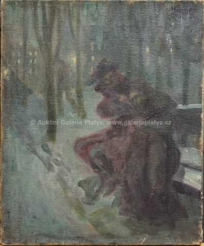 Autor neurčen - Na lavičce