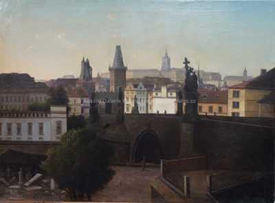 Autor neurčen - Pražské panorama