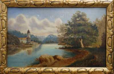 Karel Liebscher - U jezera