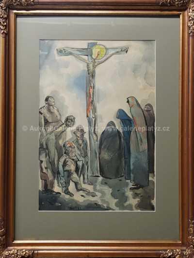 Jan Konůpek - Pod křížem