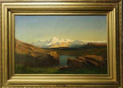Anton Hlavacek - Zasněžené hory