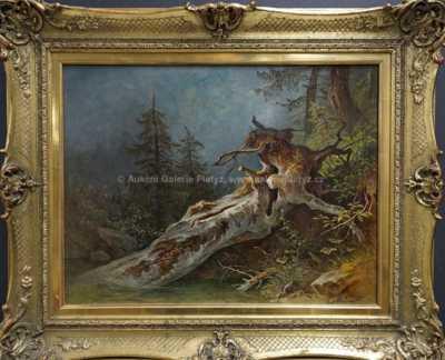 Josef Schwemminger - Padlý strom