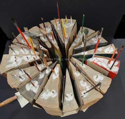 Skupina umělců - Dort pro V. Preclíka