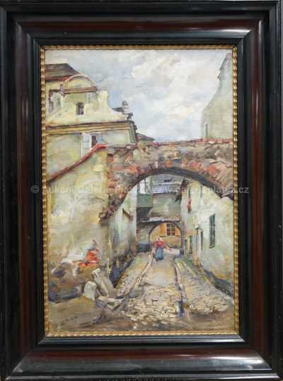 Salomon Zorn - Motiv z Českého Krulmova