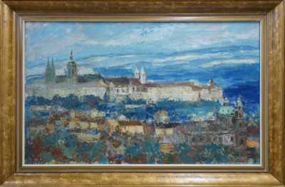 František  Max - Pražské panorama