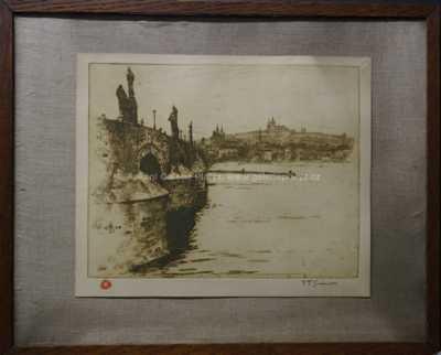 František Tavík Šimon - Vory na Vltavě