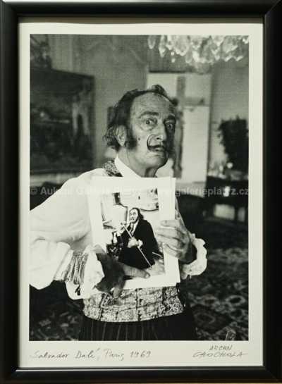 Autor neurčen - Portrét Salvadora Dalího