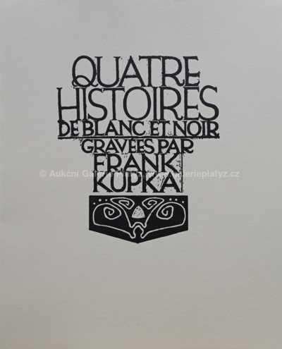 František Kupka - Čtyři příběhy bílé a černé