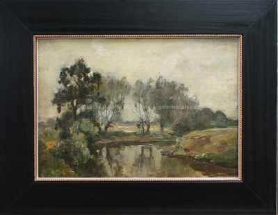 Charles Joseph Beauverie - Řeka