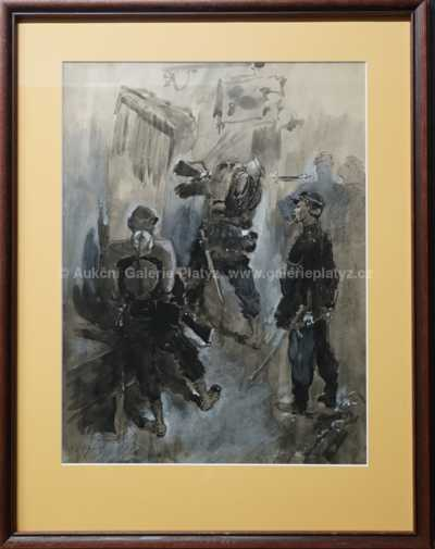 Luděk Marold - Vojáci