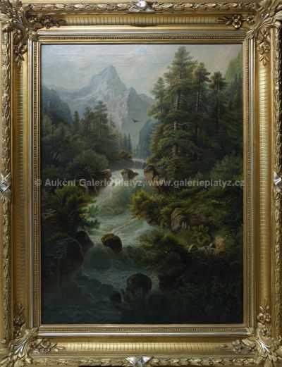 Alois Wolf - Horská říčka