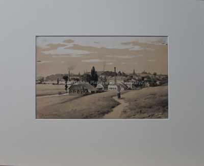 Karel Liebscher - Městečko