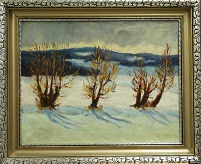 Antonín Hudeček - Zima
