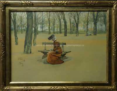 Karel Rélink - Na lavičce
