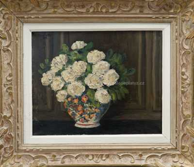 Georges Lattes - Květinové zátiší