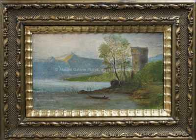 Antonín Waldhauser  - Hrad u jezera