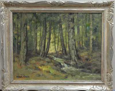 Otakar Hůrka - Lesní potůček