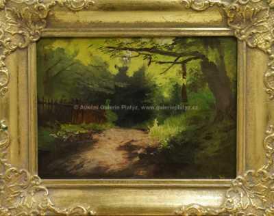 Johann Friedrich Hennings - Ve stínu stromů
