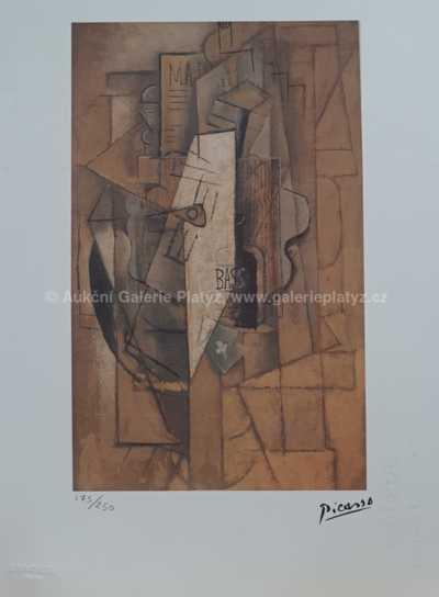 Pablo Picasso - Kubistická kompozice