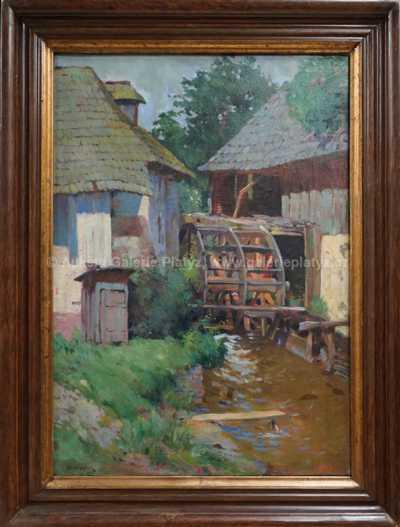 František Cína - Jelínek - Starý mlýn