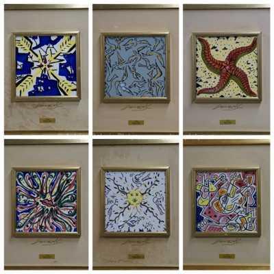 Salvador Dalí - Konvolut šesti kusů