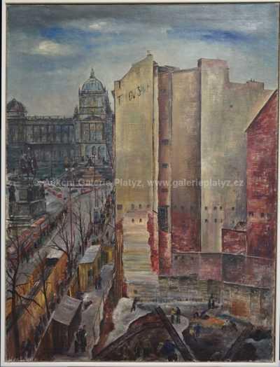 Ferdinand Kotvald - Stavba obchodního domu