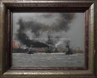 Jaroslav Ronek - V přístavu