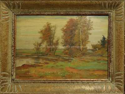 Otakar Hůrka - Břízy u rybníka