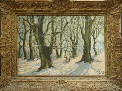 Alfréd Paulmann - Zimní motiv