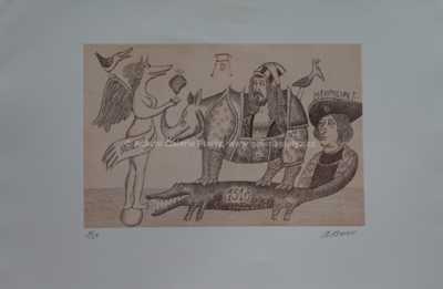 Adolf Born - Dürer se svými modely