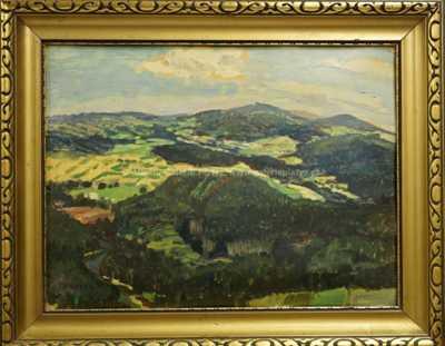 Jaroslav Panuška - Pohled na Kašperské Hory