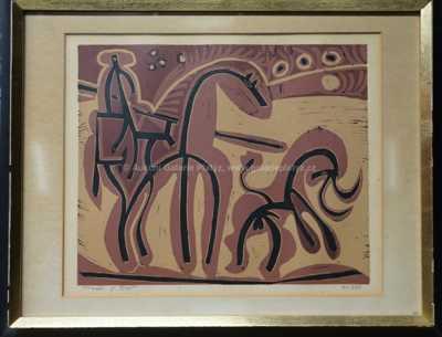 Pablo Picasso - Býčí zápasy