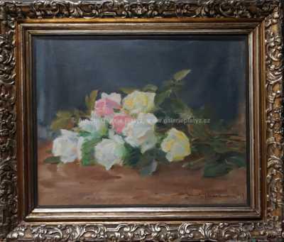 Emil Schovánek - Kytice růží