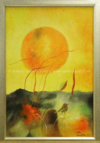 Ptáček a slunce