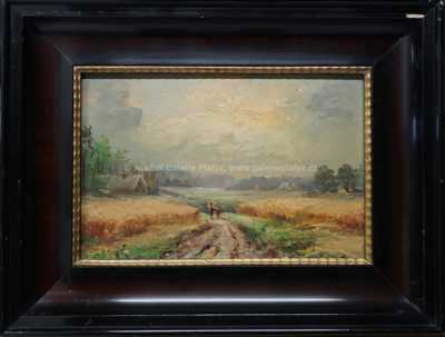Nesignováno - Cesta v polích