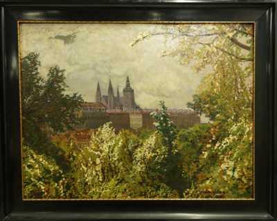 Otakar Hůrka - Pražský hrad
