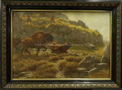 Autor neurčen - Lov bizonů