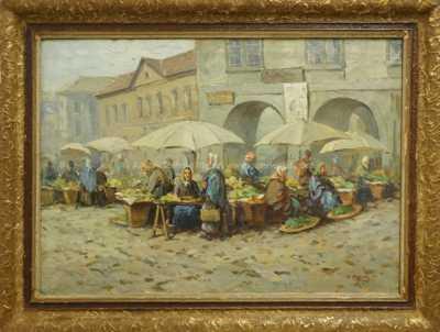 Antonín  Augusta - Havelské tržiště