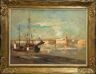 Karel Hodr - V přístavu