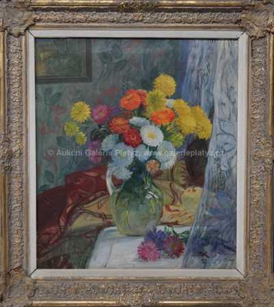 Karel Vik - Květinové zátiší