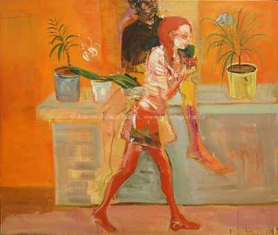 Roman Brichcín - Dívka s kaktusem