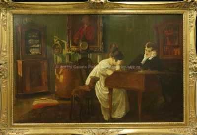 Alexandr Jakesch - Hodina u cembala
