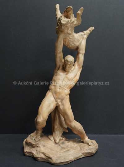 Jan Znoj - Zápas Heraklea s Erymanthským kancem