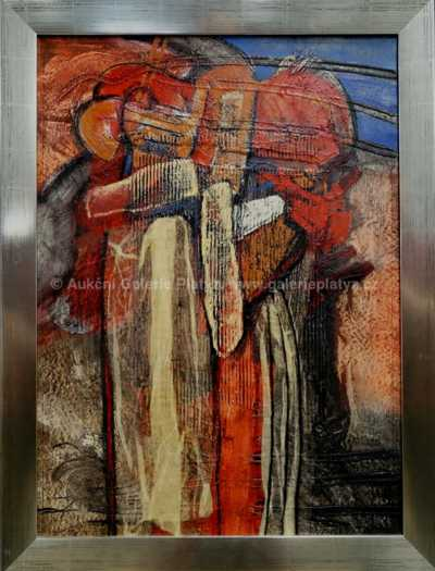 Arnošt Chabera - Dvě postavy